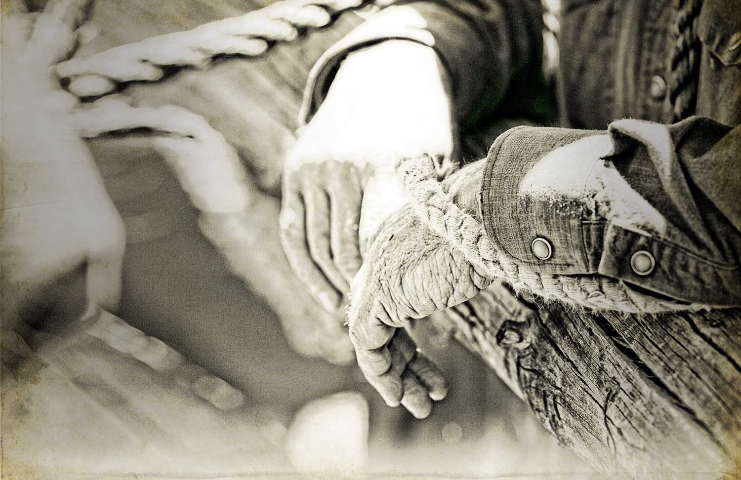 Background image of farmer's hands
